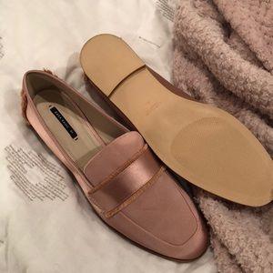 Zara Blush Loafers